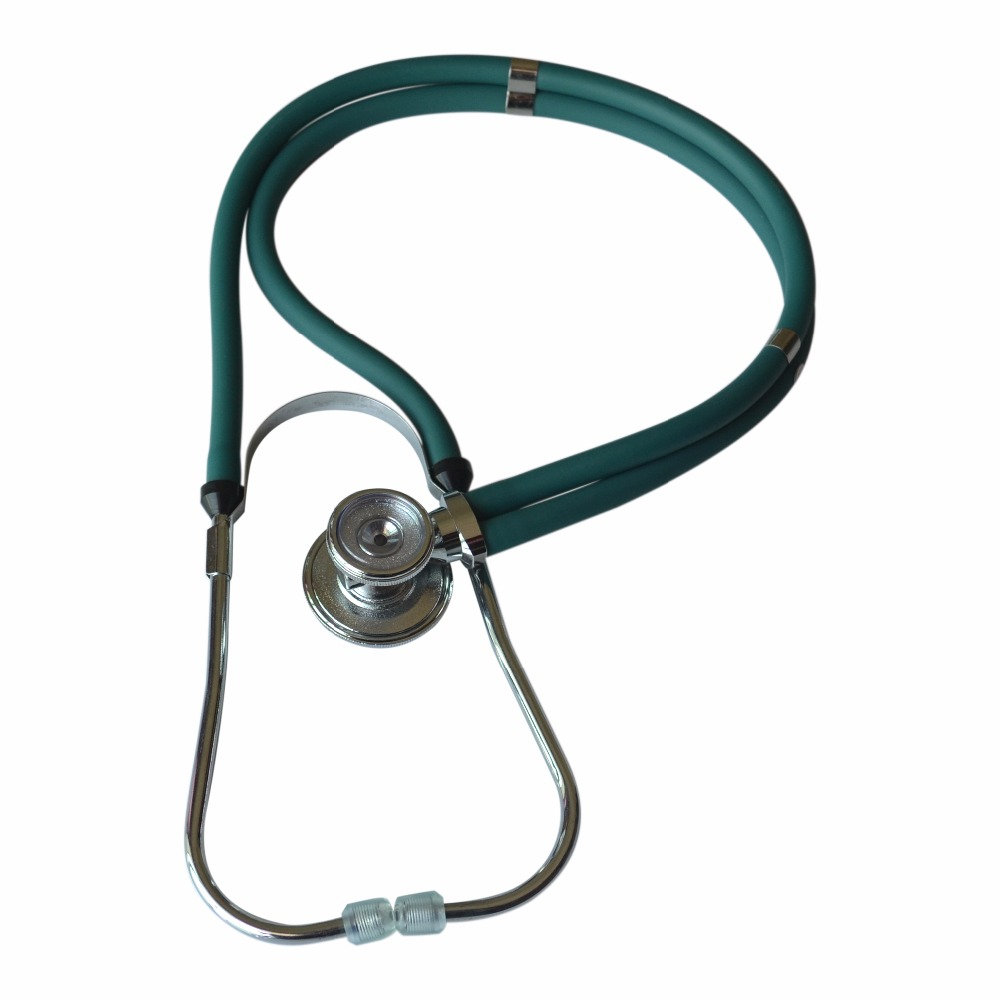 Deep Green Multifunction dual-headed Professional NEW Medical Clinical Classic Doctor Stethoscope