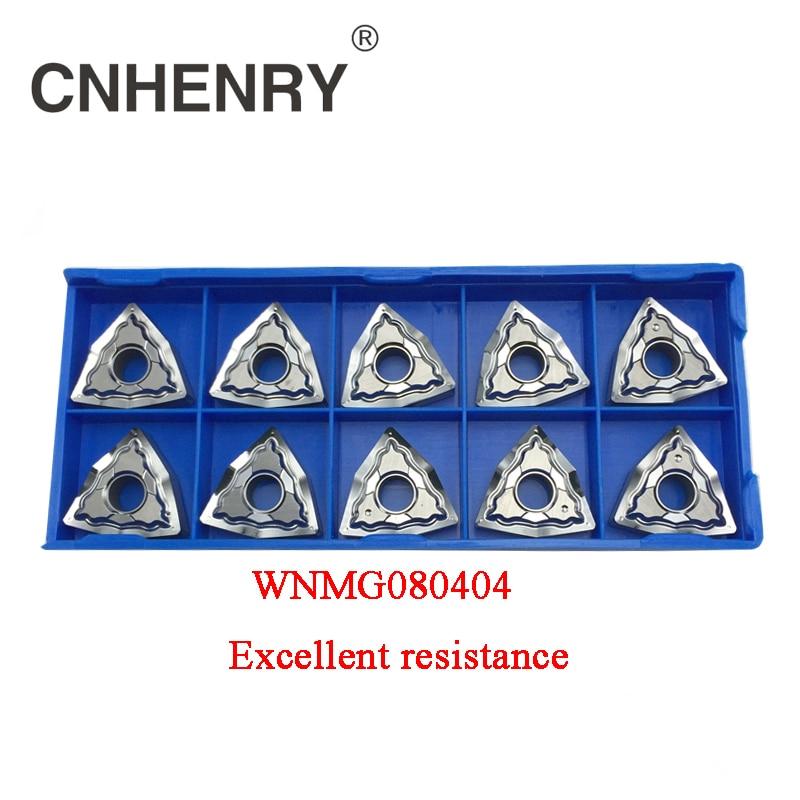 CNC eszterga-alumínium-keményfém betétek WNMG080404 - Szerszámgépek és tartozékok - Fénykép 1