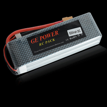 GE Power 4S Lipo Battery 4S 14.8V 5200MAH 30C MAX 40C T/XT60 Plug LiPo RC Battery For Rc Helicopter Car Boat 4S Free shipping