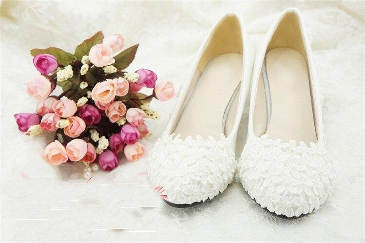 White high heel Flower Girl Dress Shoes