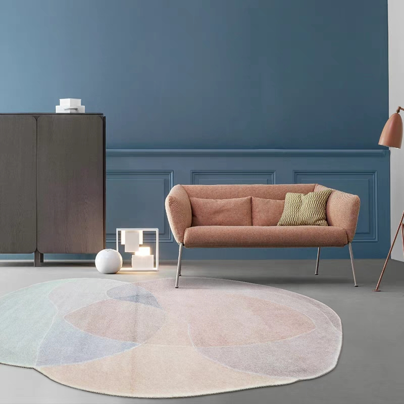 Unique shaped post modern clouds mountain  living room rug,Nordic big size bedside carpet,  abstract decoration coffee table rug-in Carpet from Home & Garden    3