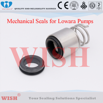 16MM mechanical seal Tapered Single-Spring Seal,Suit for e-SV- Series Lowara pumps-Vulcan type 139