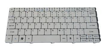 Marca genuina nueva para Acer Aspire 521 533 D255 D260 D257 feliz happy2 KB ¡I100A! 114 teclado de cuaderno blanco estadounidense