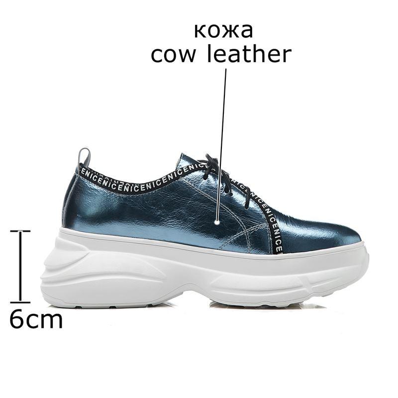 ALLBITEFO جديد أزياء جلد طبيعي إمرأة شق حذاء أسافين كعب أحذية رياضية للماء منصة حذاء كاجوال-في أحذية نسائية مسطحة من أحذية على  مجموعة 3