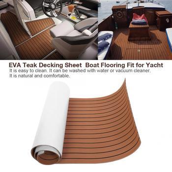 Overseas EVA Teak Decking Sheet  Boat Flooring Fit for Yacht Accessories Marine
