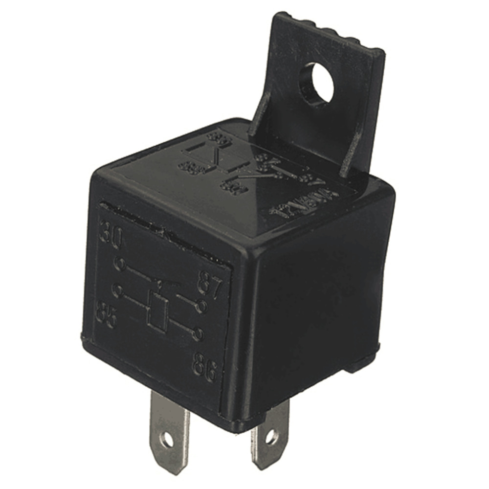 Auto Relay Universal 4 Pin Dc 12v 30a Build In Fuse Socket Car With For Electric Fuel Pumps Water Headlight Etc Switches Relays