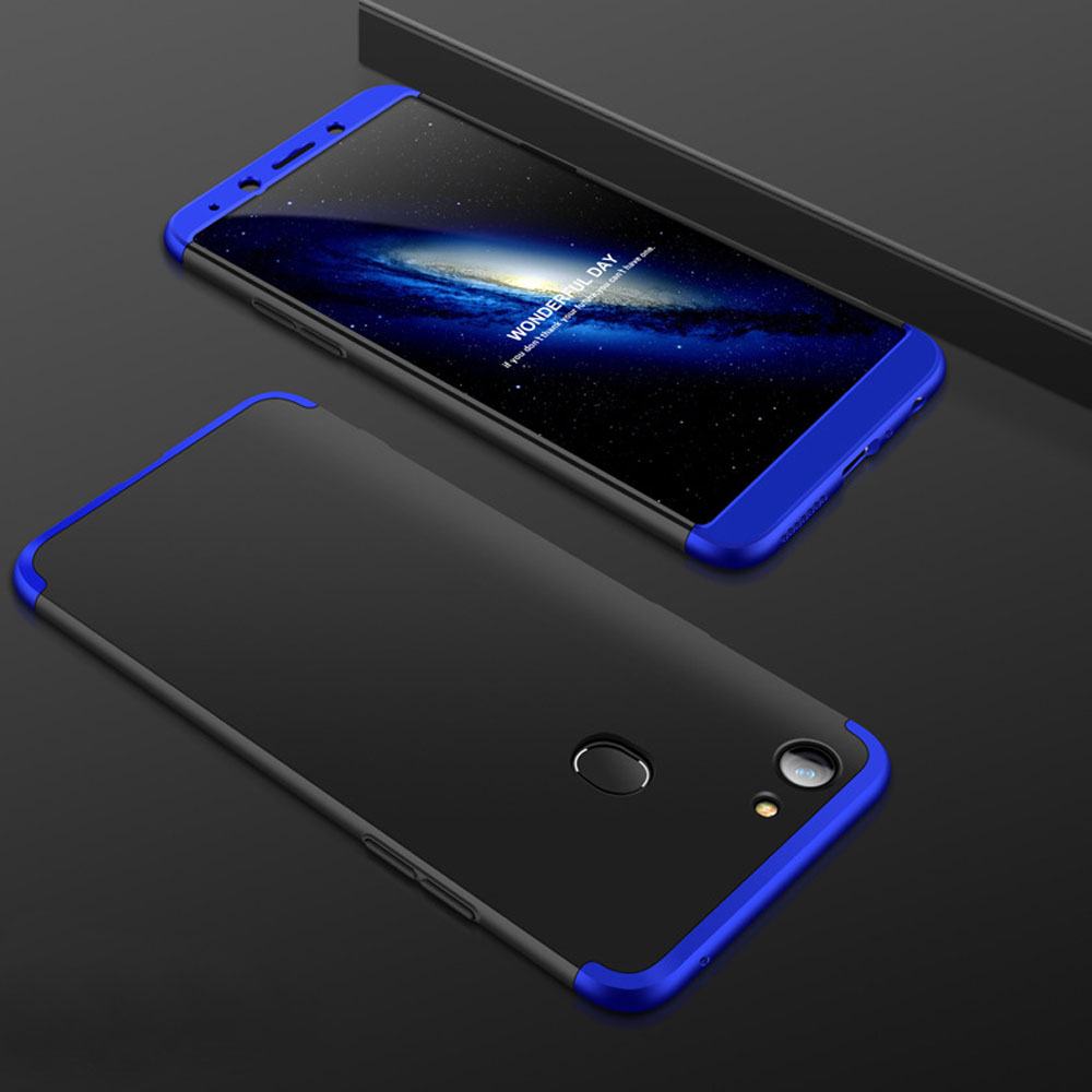 3In1 Full Body Protective Hybrid Armor Case With Tempered Glass/Soft Screen Protector Cover For Oppo A73 A73T/F5/R15/Find X/A77