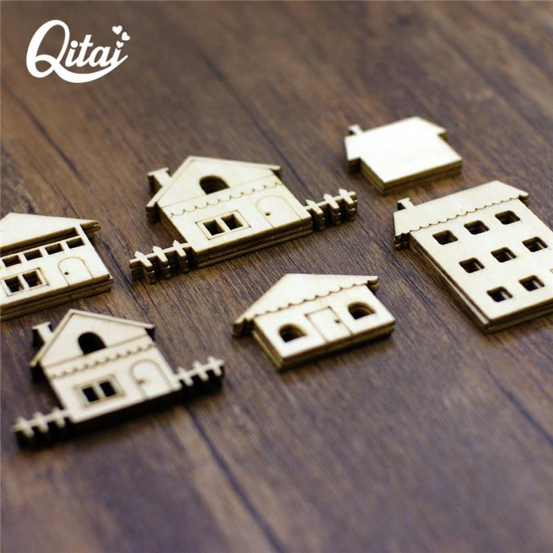 QITAI 18 дана ағаштан жасалған - Үйдің декоры - фото 3