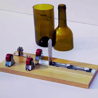 Durable Wine Beer Glass Bottle Cutter Machine Mayitr Jar Cutter For Bottle Sculpture Art Cutting Tool