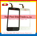 "High Quality 4.0"" For Micromax A79 V1.0 Version Touch Screen Digitizer Sensor Front Glass Lens Black Free Shipping"