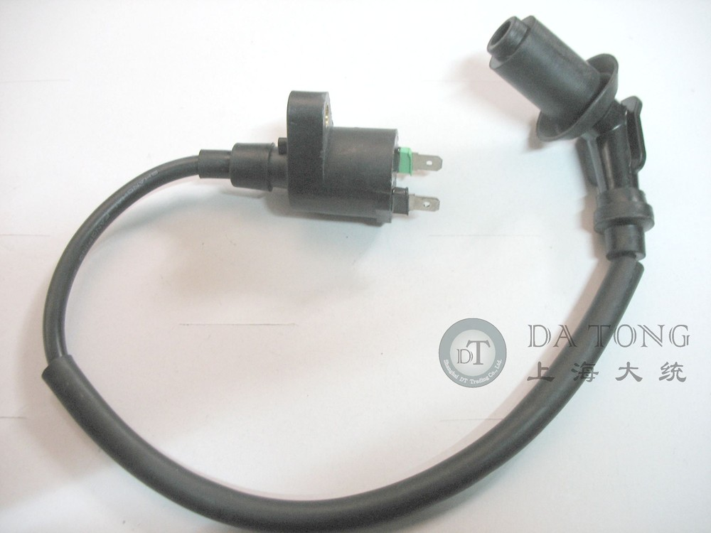 Ignition Coil For 50cc 150cc GY6 139QMB 152QMI Chinese Scooter Honda Yamaha Kawasaki ATV Moped Motorcycle Parts + Free Shipping