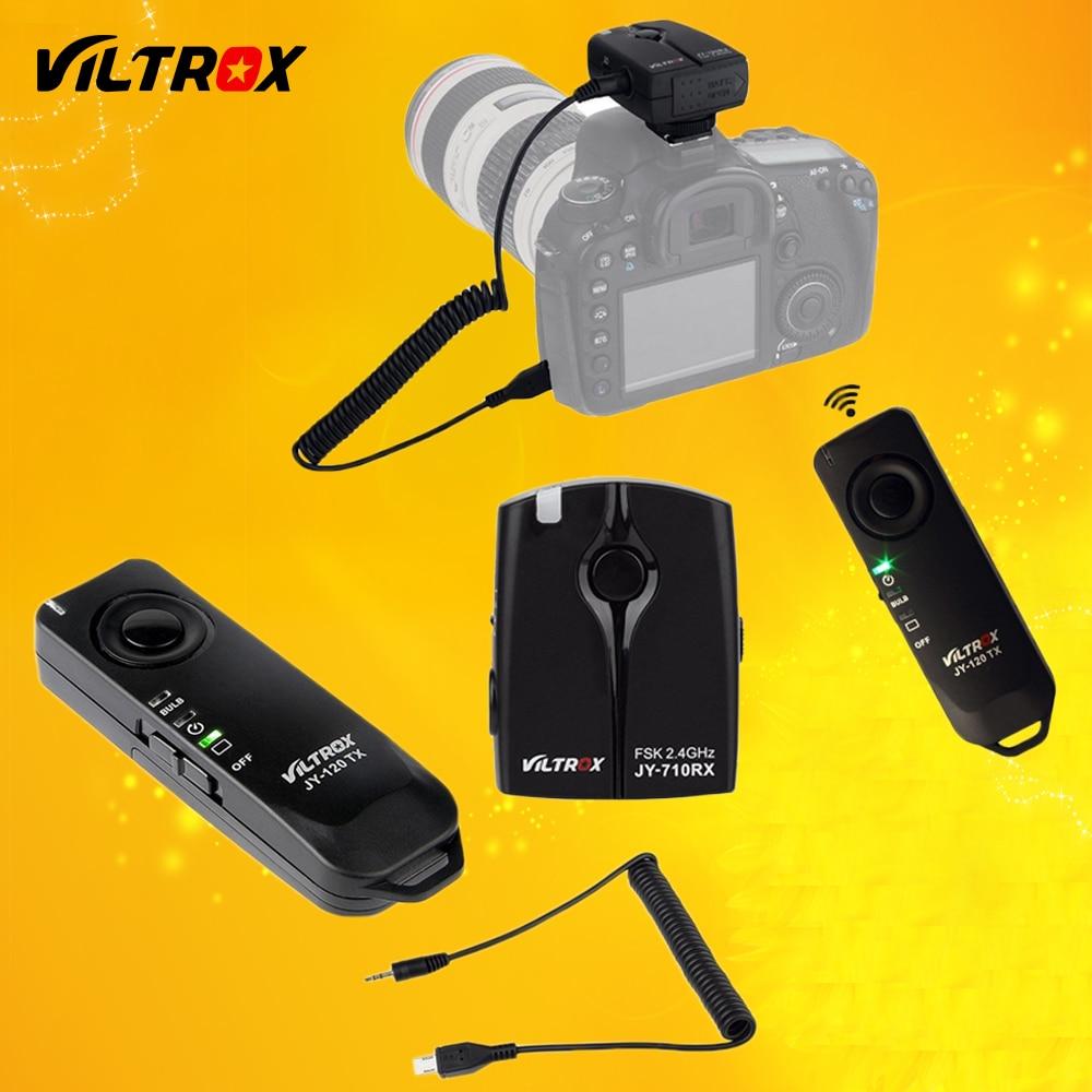 Viltrox jy-120-s2 inalámbrico Lanzamiento de obturador Control remoto para Sony A9 a7sii a7rii a7s a7r A7 a6500 a6000 A58 hx50 hx60 rx100m2