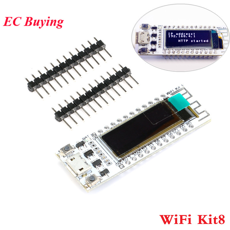 ESP8266 WIFI OLED 0.91 inch CP2014 32Mb Flash Development Board PCB ESP8266 Wireless Module for NodeMcu for Arduino IOT  - buy with discount