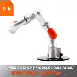 Sammeln Roboter 3D Modell Spielzeug Geschenk 1:6 Skala KUKA LBR iiwa Industrie Roboter Modell Manipulator Arm Modell Vertikale Mehrere- joint