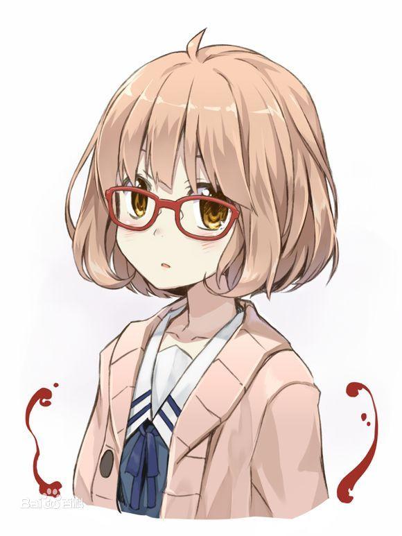 Kuriyama Mirai Orange Short BOB Styled Anime Cosplay Wig Hair Free - Anime bob hairstyle