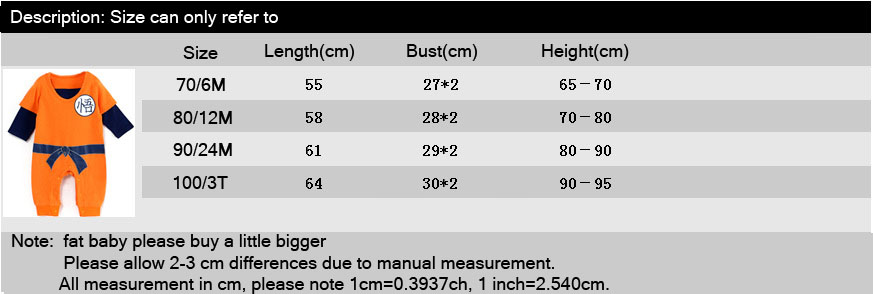 HTB1yTdpXfBj uVjSZFpq6A0SXXab Dragon Ball Baby Rompers Newborn Baby Boys Clothes SON GOKU Toddler Jumpsuit Bebes Halloween Costumes For Baby Boy Girl Clothing