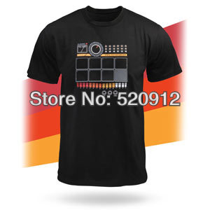 wearable dj quality drum machine thumps out sweet digital rhythms electronic drum t shirt with. Black Bedroom Furniture Sets. Home Design Ideas