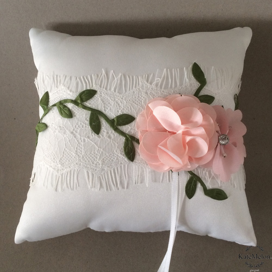 lace blush wedding pillow il zoom fullxfull ivory ring bgtw listing