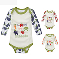 Fashion Baby Jumpsuit Body Baby Girls Baby Boy Bodysuits Fruits / Vegetables