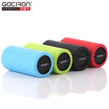 GACIRON Bike Bicycle Bluetooth MP3 Player Audio Subwoofer Outdoor Sports Cycling Mini Small Speaker Loudspeaker for IOS Android