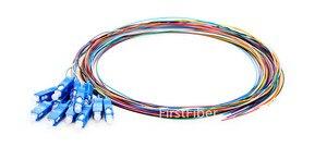 Image 4 - Fiber Pigtail 12 Colors 1.5m SC/LC/FC/APC/UPC fiber Pigtail cable G657A 12 Cores 12 Fibers Simplex Single Mode 0.9mm