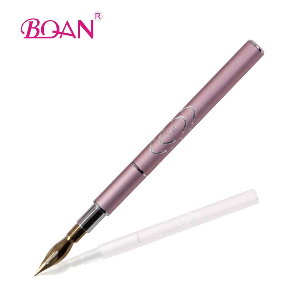 소매 BQAN 새로운 디자인 금속 손잡이 조각 네일 아트 - 네일 아트