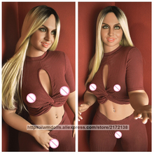 WMDOLL 156cm Real Sized Silicone Sex Doll Realistic Love Doll Life Size Artificial Vagina Big Ass Sexy Toys for Male
