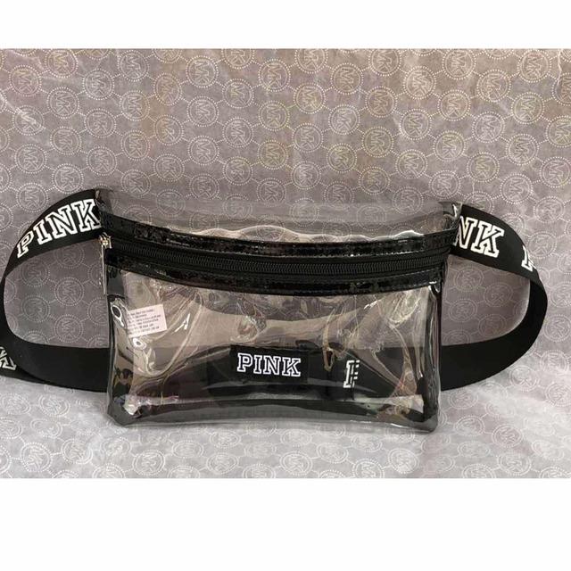 New Waterproof Transparent pink fanny pack girl heuptas waist bag mini women beach pockets pouch belt