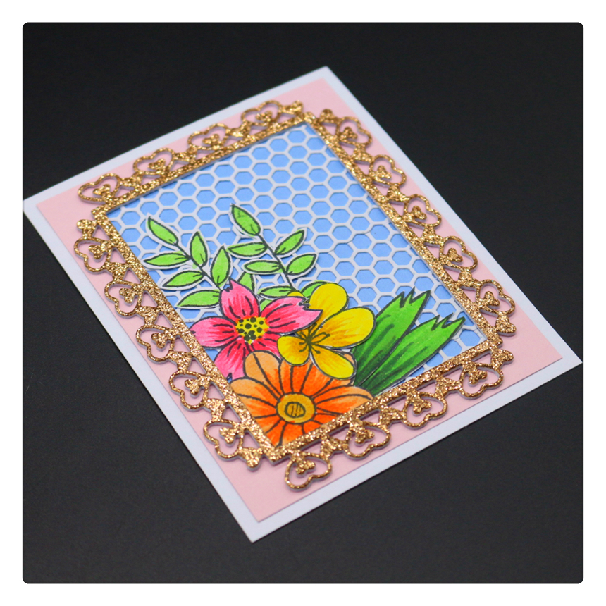 1752 Love Lace Cover Scrapbook Metal Cutting Dies For Scrapbooking Stencils DIY Album Cards Decoration Embossing Folder Die Cuts in Cutting Dies from Home Garden