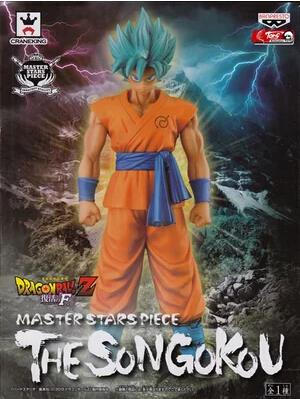 Dragon Ball Z MASTER STARS PIECE MSP Super Saiyan SS Goku Resurrection F Figure DBZ