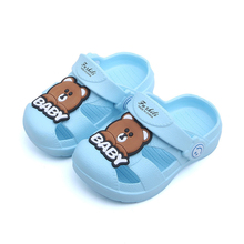Slippers Baby Kids Water Shoes Cute Bear Beach Boys 2019 New Summer Sandals Children Toddler For Girls