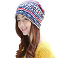 [Ode To Joy]Unisex thick print Women Beanie Hat Female Skullies and Beanies Turban snood Cap Men snood Hip Hop hot sale