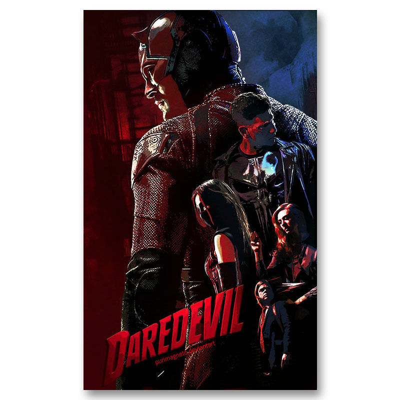Superhero Daredevil Season 2 TV Series Silk Poster 12x18 24x36 inch 004