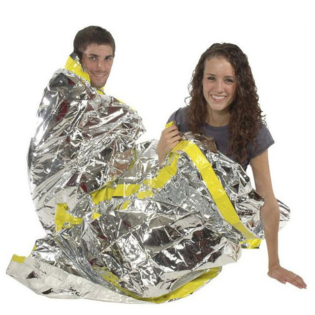 Reusable Emergency Shelter Survival Foil Camping Sleeping Bag First Aid Shelter For Adventure Survival Hiking Bushcraft 4a
