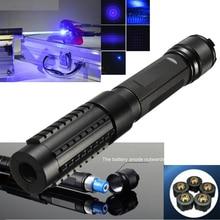 Портативный мощный профессиональный 1000 м мощный военный синий лазерный набор ручек