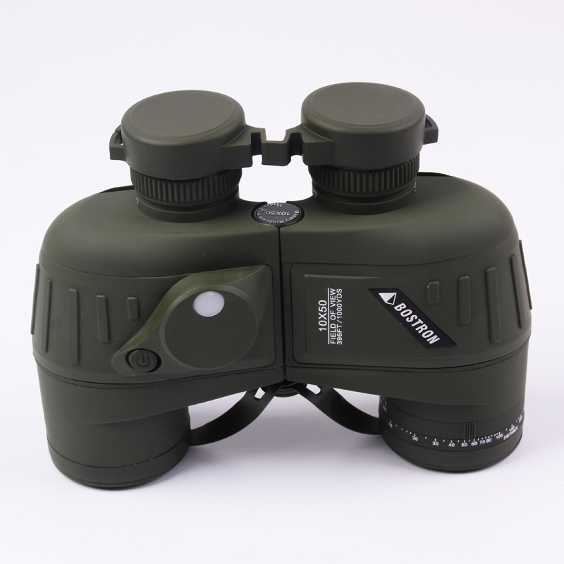 TUOBING Professional High Definition Zoom Waterproof Portable 10X50 Binoculars Telescope with Compass Night Vision Navigation