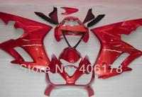 Hot Sales,For Triumph Daytona 675 Customized Daytona675 2006 2008 Aftermarket Motorcycle Red Fairings Set (Injection molding)