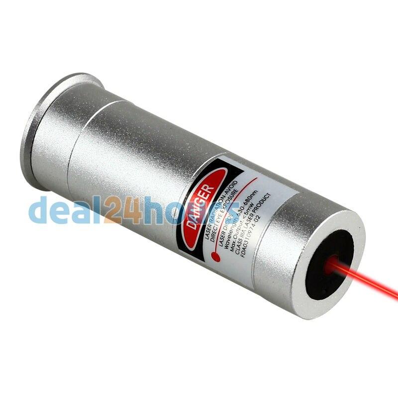 Boresighter 12 Calibro Cartuccia Laser Bore Sight Sighter Boresight 12GA & Laser Rosso per Fucili Da Caccia Nuovo Trasporto Libero