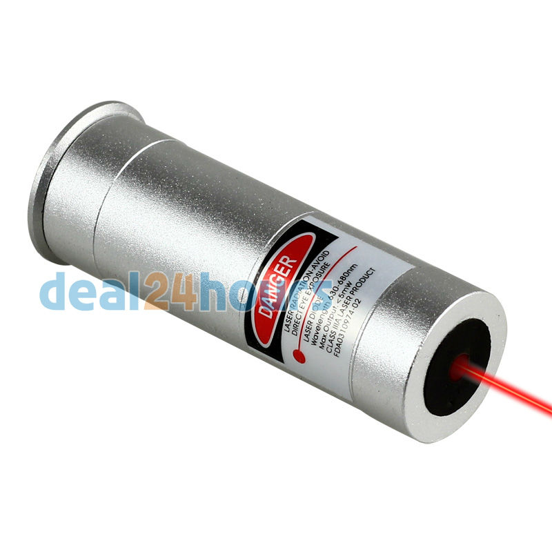 Boresighter 12 Gauge Cartridge Laser Bore Sight Sighter Boresight 12GA & Red Laser for Rifles Hunting New Free Shipping