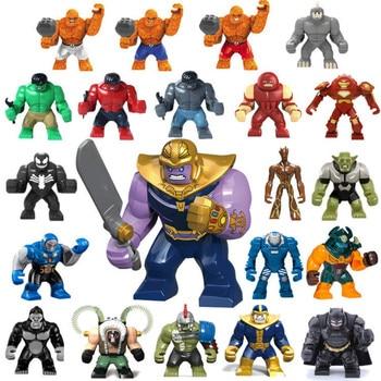 Figure Batman Marveling DC Building Blocks Bricks AvengersING Super Hero Hulk not Compatible LegoINGLY Duplo