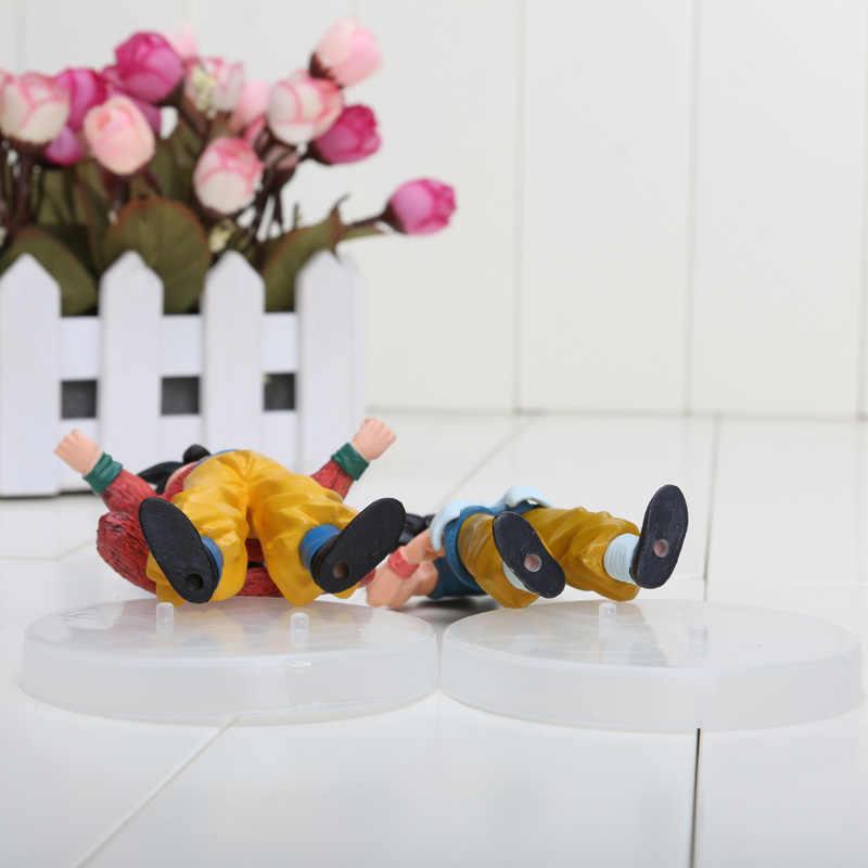 12 cm dragão Anime japonês Ball Z 6 pçs/set PVC figuras modelos de brinquedos de animação boneca coleção aniversário / presentes de natal