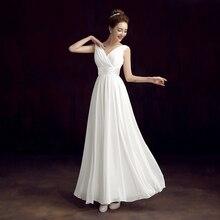 YIDINGZS Robe De Roiree Double Shoulder Simple Solid Color Pleat Chiffon Long Evening Dresses Mother Of The Bride Dress