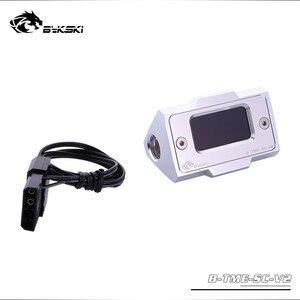 Image 5 - Bykski מחשב מים קירור מדחום HD LCD עם אמת זמן טמפרטורת זיהוי B TME SC AL
