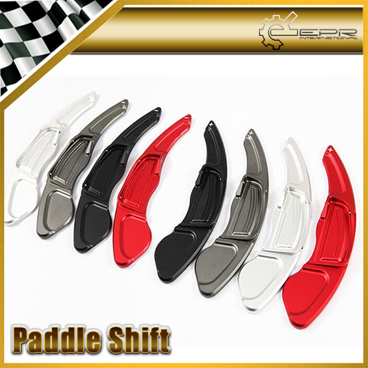 Car-styling For Honda CRV 2010 Fit 2013 For Civic 2009 Aluminium Steering Wheel Paddle Shift Switch Shifter Extension купить