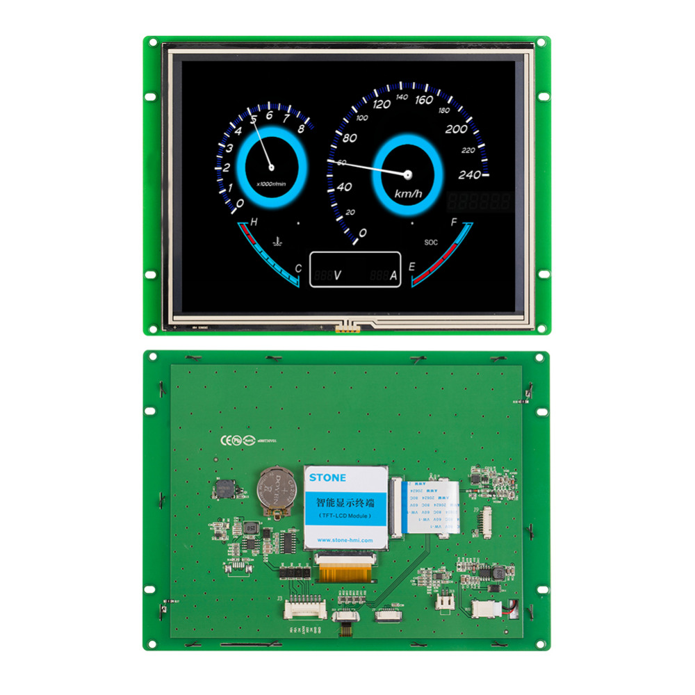 8.0 Tam Renkli TFT LCD Dokunmatik Panel8.0 Tam Renkli TFT LCD Dokunmatik Panel