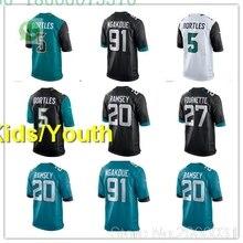 da93e0a4cfd Jacksonville A+++ quality Kids youth Blake Bortles 5 Jalen Ramsey 20  leonard fournette 27 yannick ngakoue 91 jersey