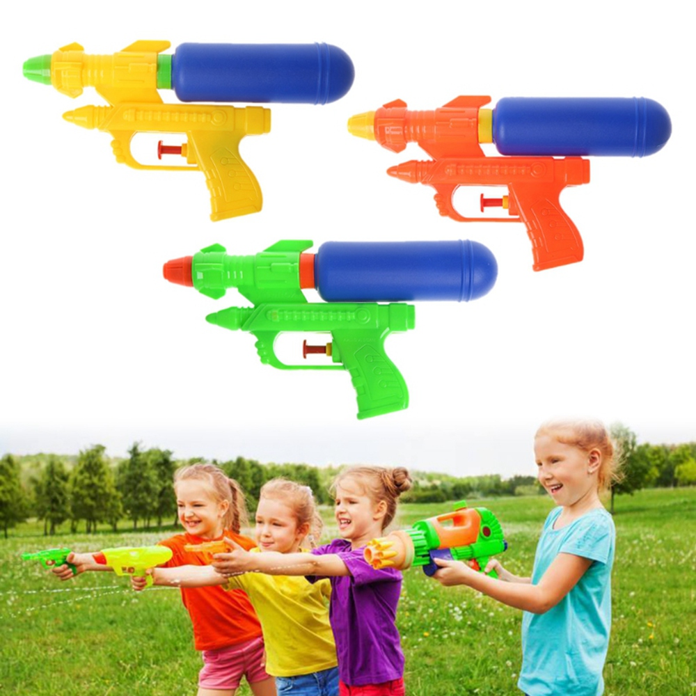 New Water Guns Toys Classic Outdoor Beach Water Pistool Blaster Gun Portable Squirt Gun Kids Beach Toys For Summer Beach Games