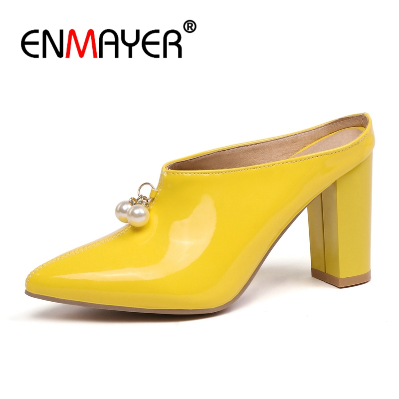 34 43 yellow Bout Taille on Apricot red Chaussures Ville Sexy Talons De Femme Slip black Zyl2547 Pointu pink Mujer Calzado Enmayer 6R7wdqOq