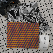 Babaite New Design Geometric  Office Mice Gamer Soft Mouse Pad Top Selling Wholesale Gaming mouse