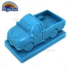 Силиконовая форма Chocalate 3D для грузовика, форма для торта, форма для пудинга, желе, скульптура соли, скульптура льда, мягкая стерео форма S0208XC